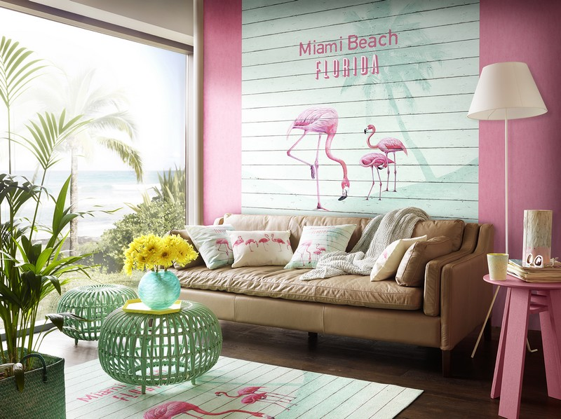 deco la tendance du flamant rose la minute d 39 emy blog lifestyle. Black Bedroom Furniture Sets. Home Design Ideas