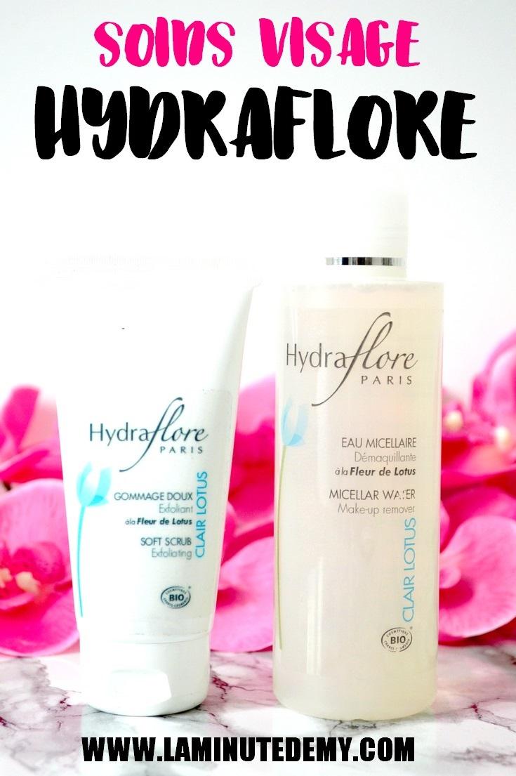 soins visage hydraflore