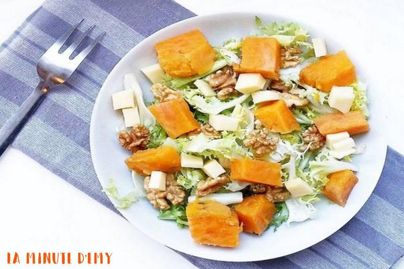 salade d'automne à la patate douce