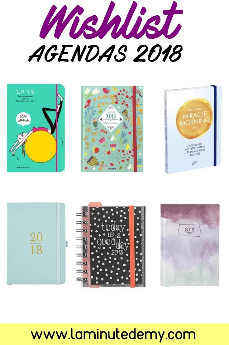 sélection agendas 2018 / planner / agenda