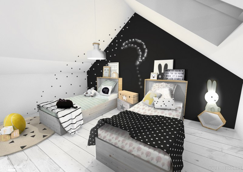 mes astuces pour bien am nager ses combles la minute d. Black Bedroom Furniture Sets. Home Design Ideas