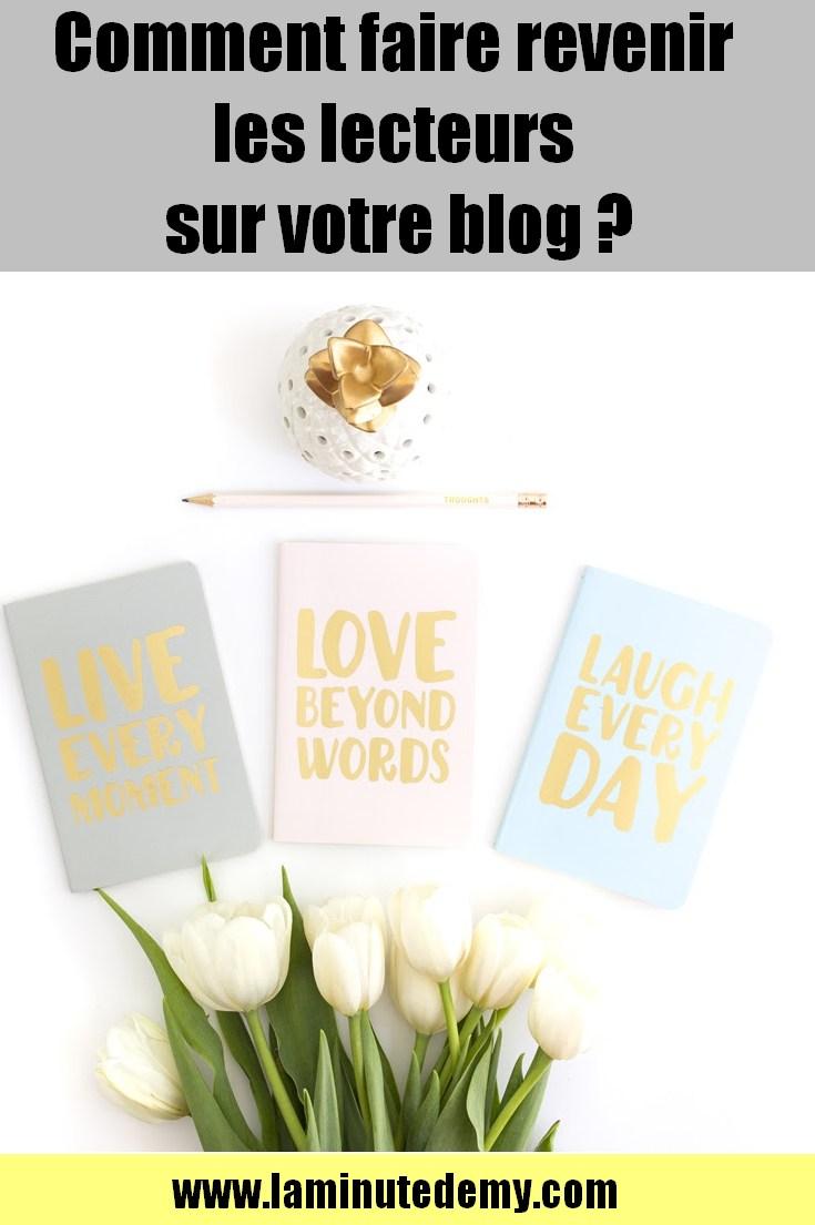blog / blogging / lecteurs sur votre blog