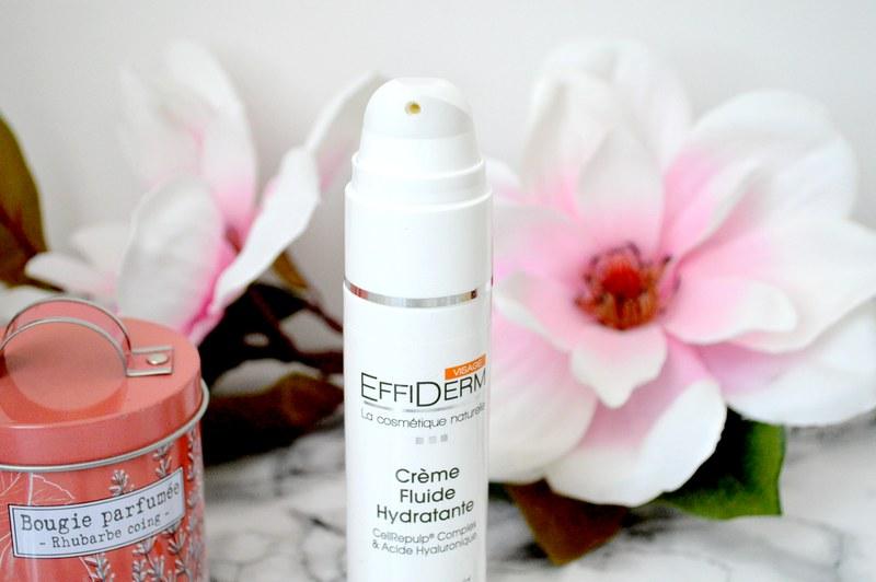 crème fluide hydratante pour visage EFFIDERM