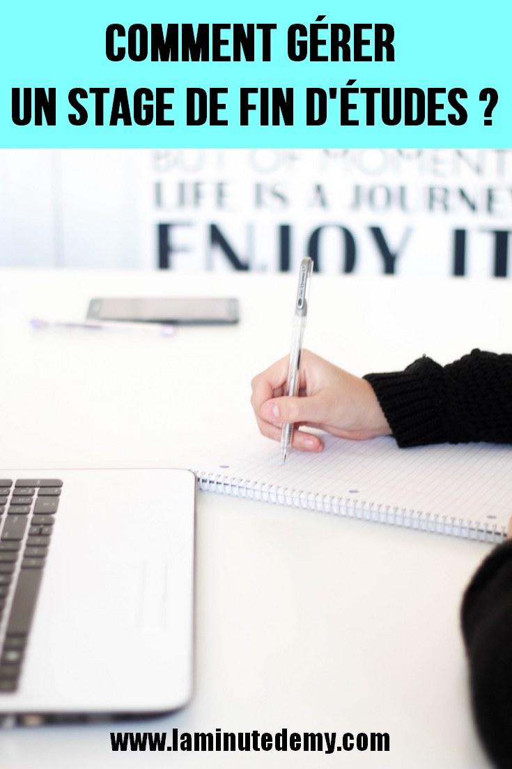 la vie de stagiaire : mon retour d'expérience