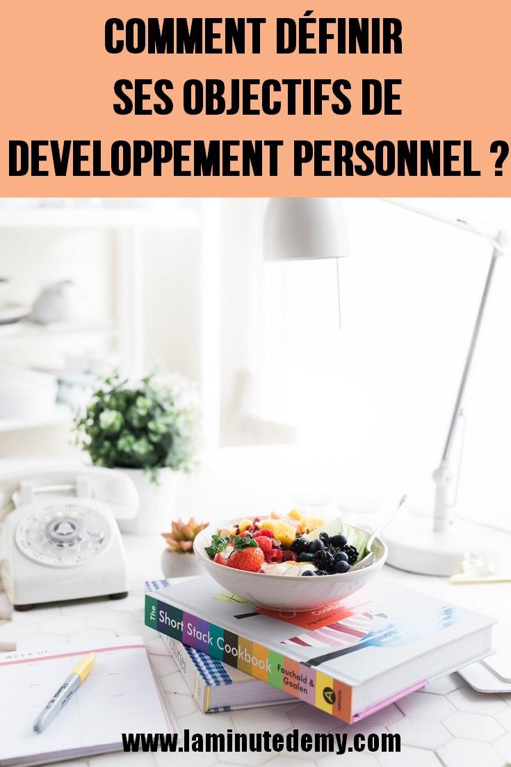 objectifs de développement personnel
