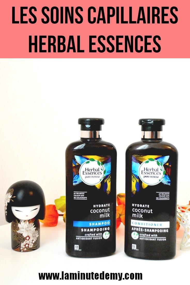 les soins capillaires Herbal essences
