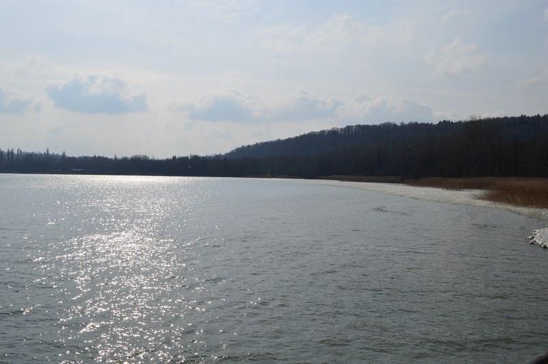 Sur la rive allemande du lac de Constance