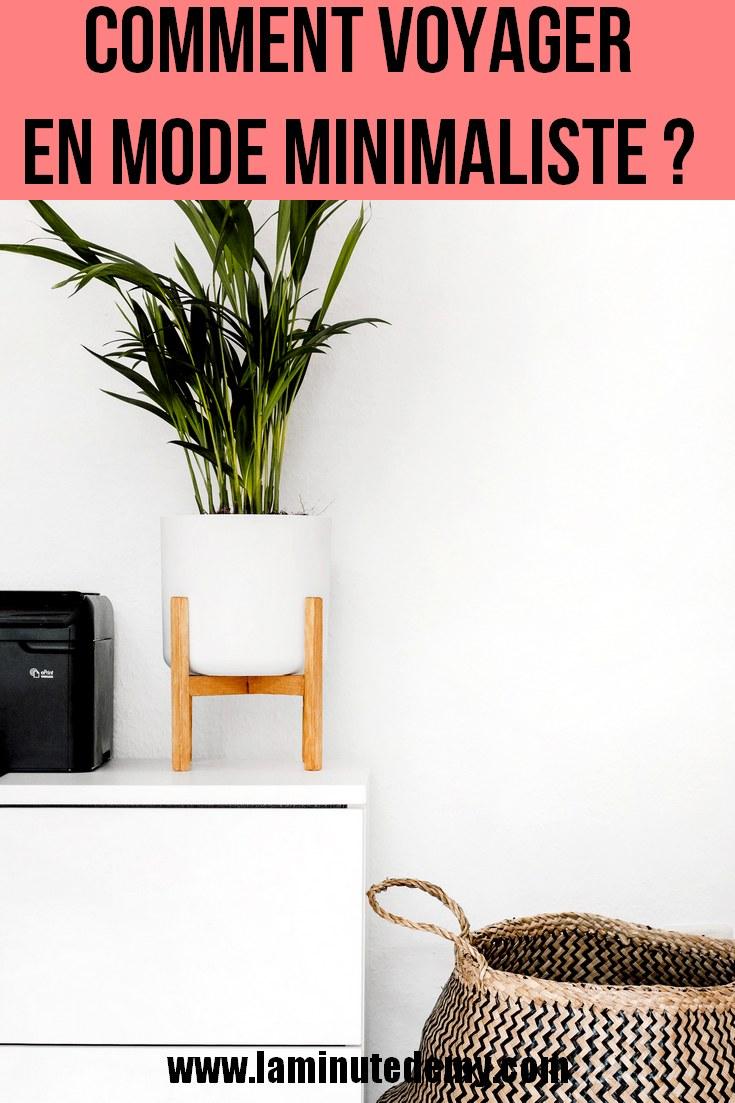 Comment voyager en mode minimaliste ?