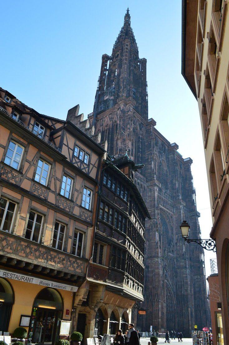 cathédrale de Strasbourg - weekend à Strasbourg