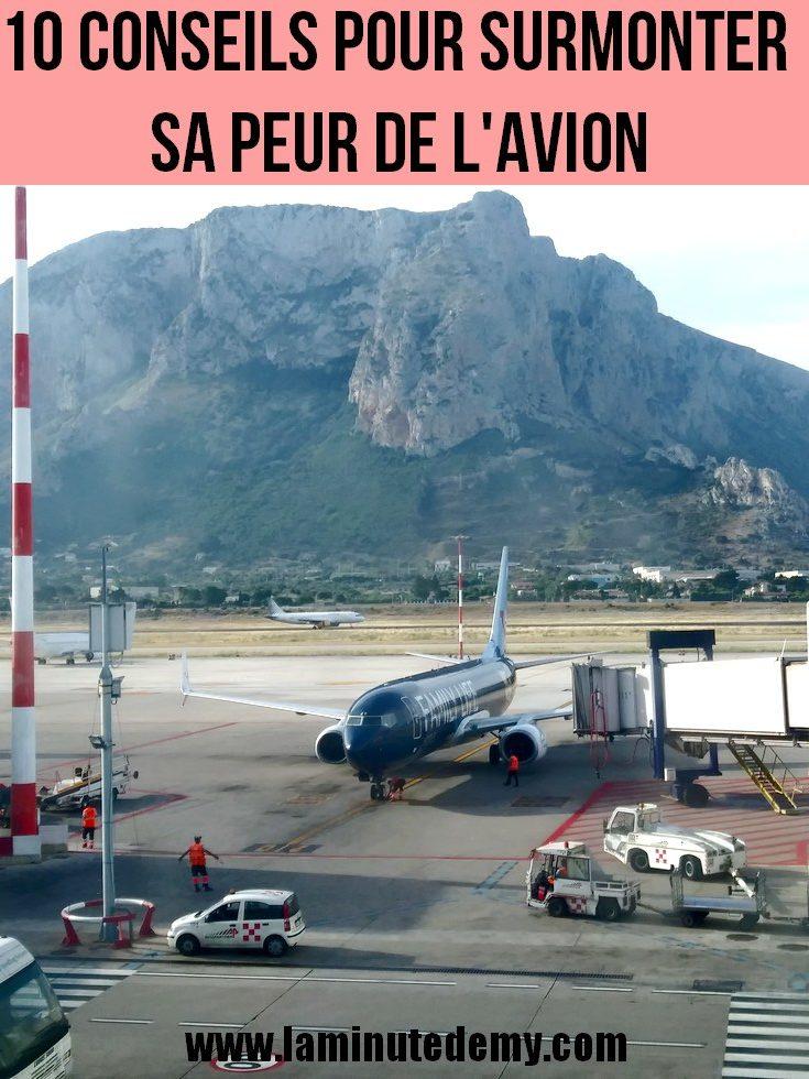10 conseils pour surmonter sa peur de l'avion