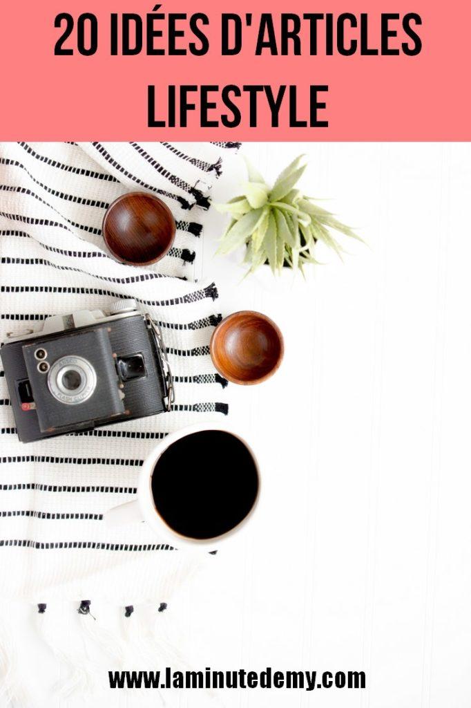 20 idées d'article Lifestyle pour les vacances