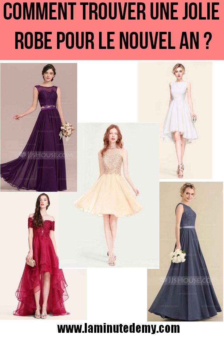 Où trouver de jolies robes pour le Nouvel An ?
