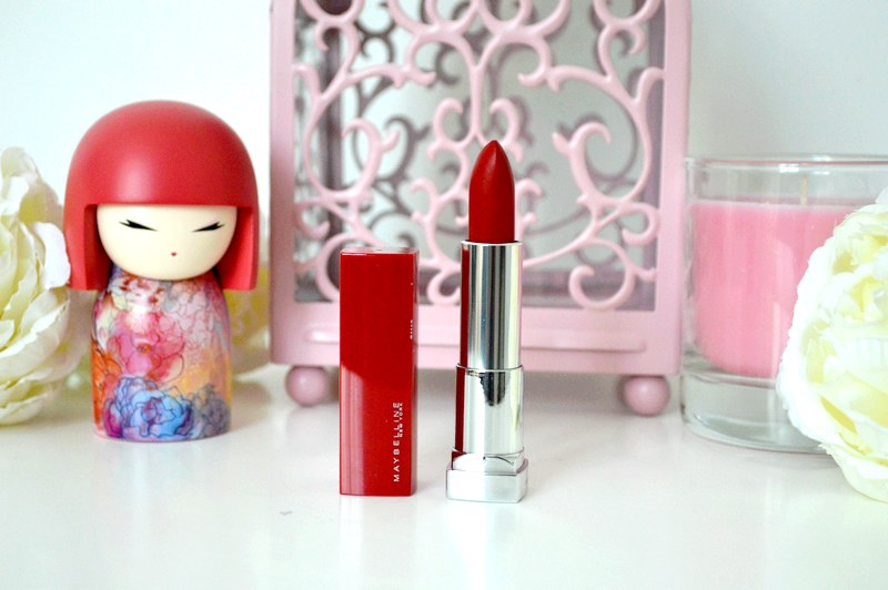 Mon avis sur les rouges à lèvres Color Sensational Made For All Maybelline
