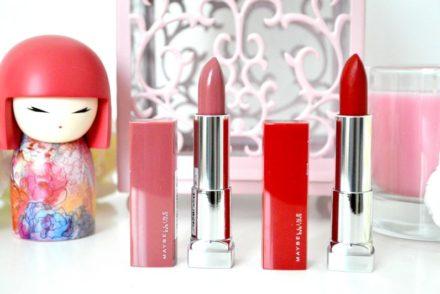 Mon avis sur les rouges à lèvres Color Sensational Made For All Maybelline