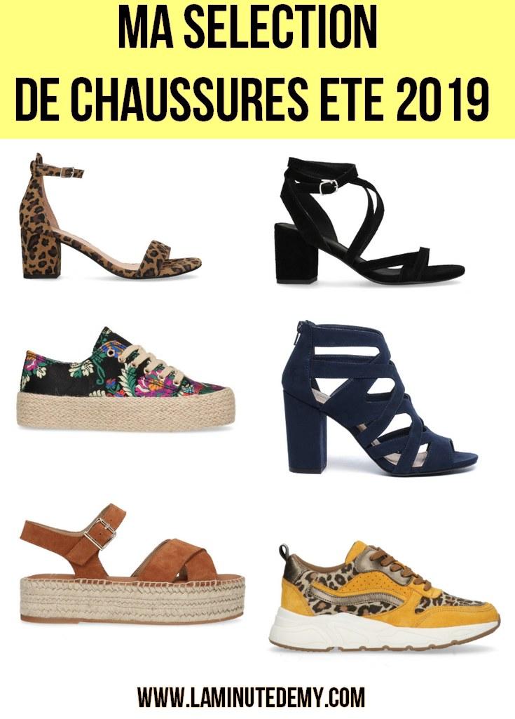 répliques prix modéré bonne qualité Ma sélection de chaussures pour l'été 2019 - La Minute d'Emy ...